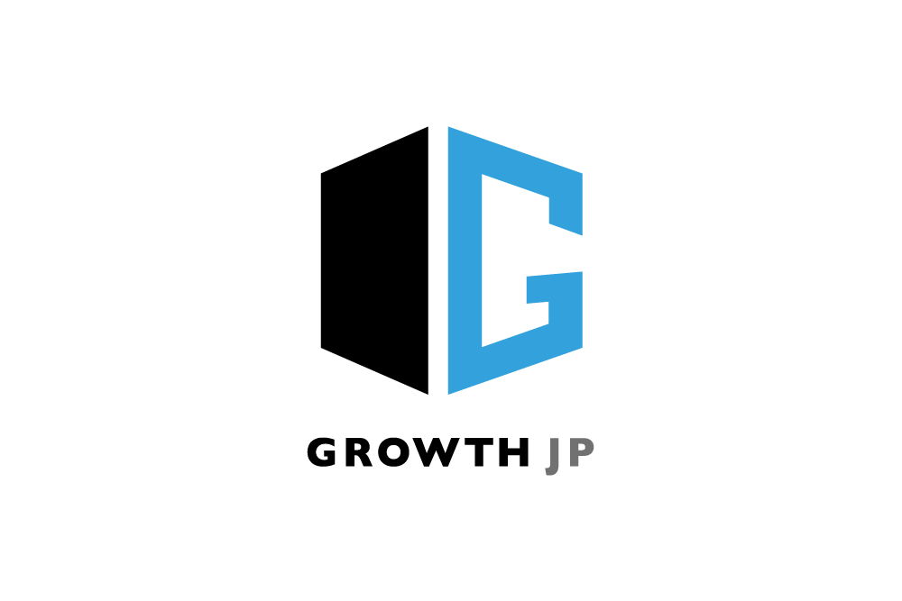 「ロゴデザイン × GROWTH JP」:デザインサンプル(コピーマック)