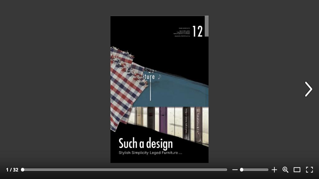 「カタログ2012 × Takatatsu&Co.」:デザインサンプル(コピーマック)