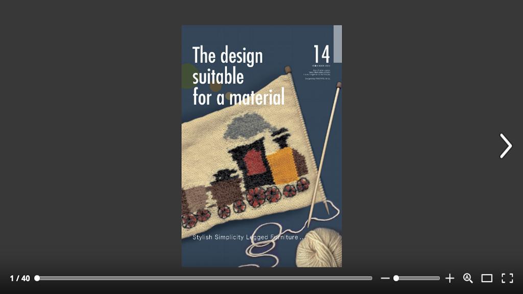 「カタログ2014 × Takatatsu&Co.」:デザインサンプル(コピーマック)