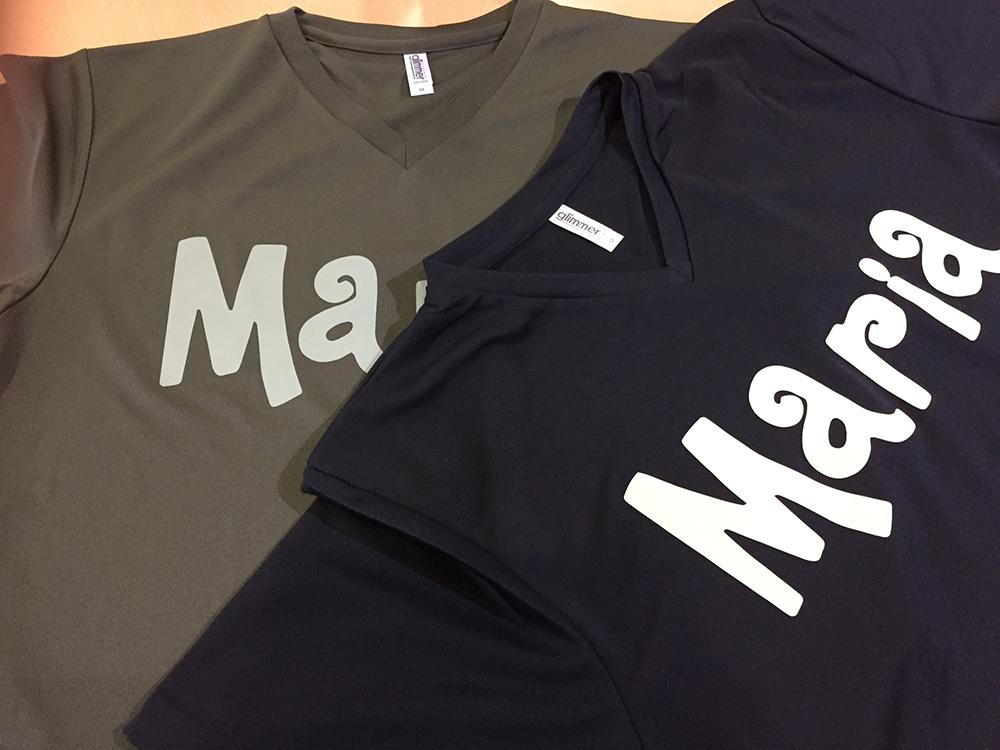 「Tシャツ×Maria」:デザインサンプル(コピーマック)