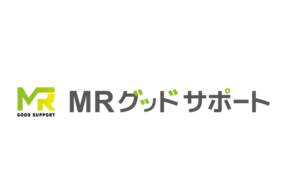 「ロゴデザイン×MRグッドサポート」:デザインサンプル(コピーマック)